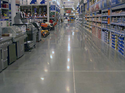 Commercial Epoxy Flooring Application